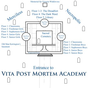 Map of Vita Post Mortem Academy